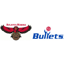 Atlanta Hawks at Washington Bullets Box Score, March 10, 1996