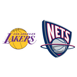 a46d9880990 2002 NBA Finals - New Jersey Nets vs. Los Angeles Lakers ...