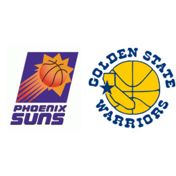 b65734f6972 1994 NBA Western Conference First Round - Golden State Warriors vs. Phoenix  Suns