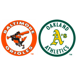 Baltimore Orioles at Oakland Athletics Box Score, July 13