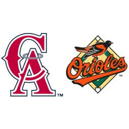 California Angels at Baltimore Orioles Box Score, September